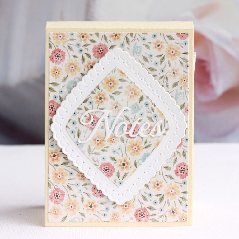 Spellbinders Vintage Treasures Collection by Becca Feeken - Inspiration | Handmade Cards with Karin Åkesdotter