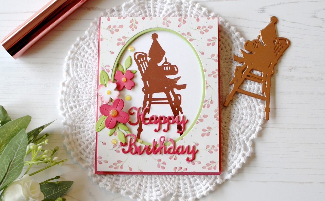 Happy Inspiration | Foiled Silhouette Cards with Melody Rupple