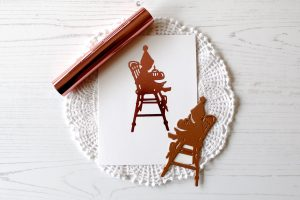 Spellbinders Happy Collection by Sharyn Sowell - Inspiration   Foiled Silhouette Cards with Melody Rupple