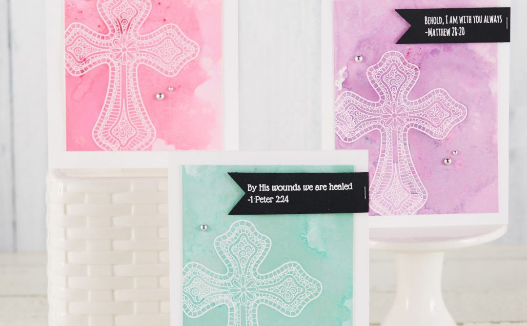 Two Ways to Use the Color Cross Stamp Set for Easter Cards