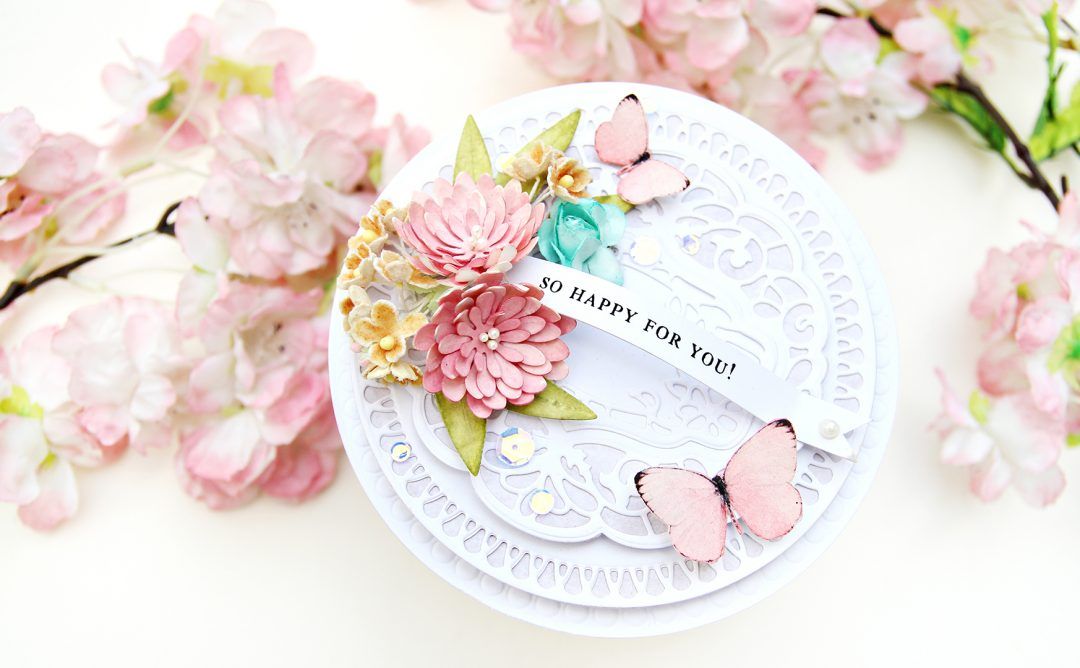 Video: Shaped Card featuring Vintage Treasures with Erum Tasneem