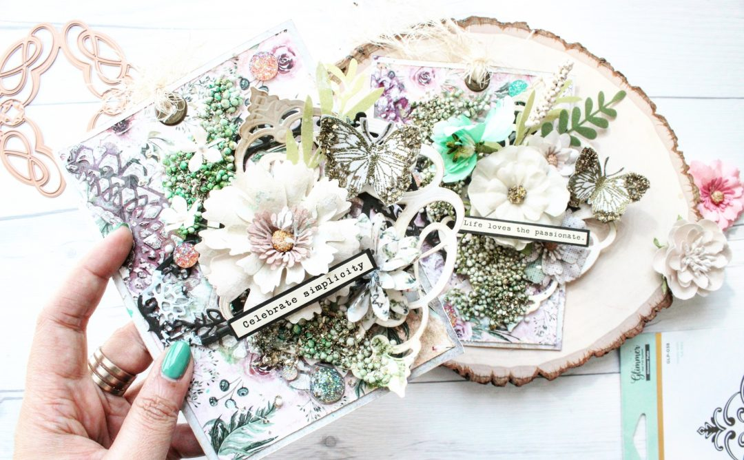 Vintage Treasures Collection Inspiration | Passions of Life Tags by Mallika Kejriwal
