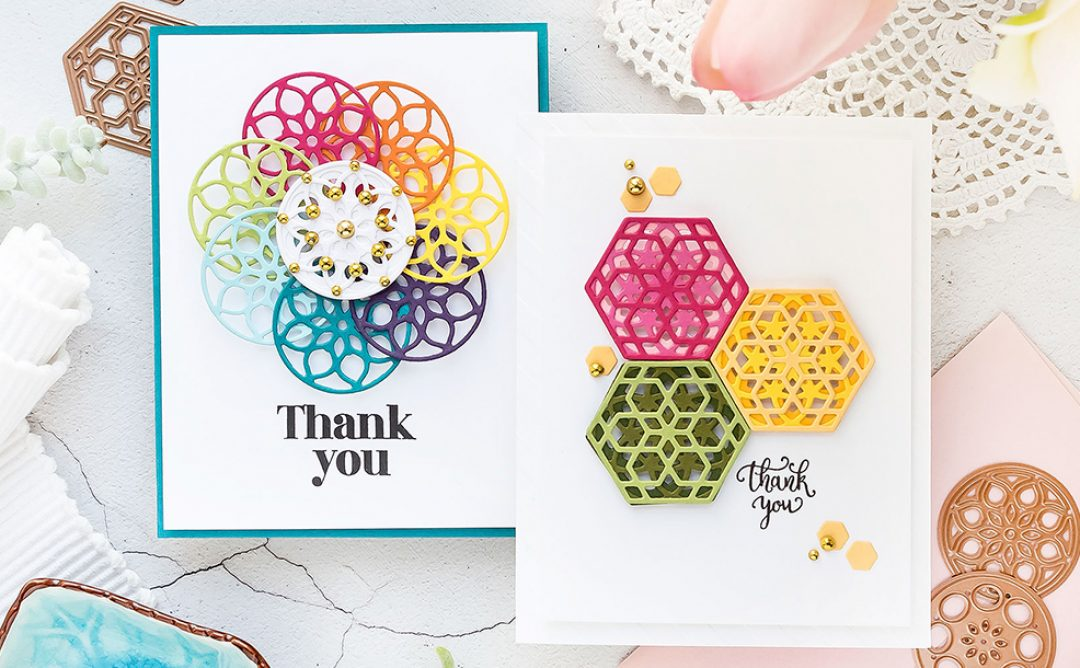 💡 BACK IN STOCK 💡 June 2019 Small Die of the Month is Here – Kaleidoscope Trio