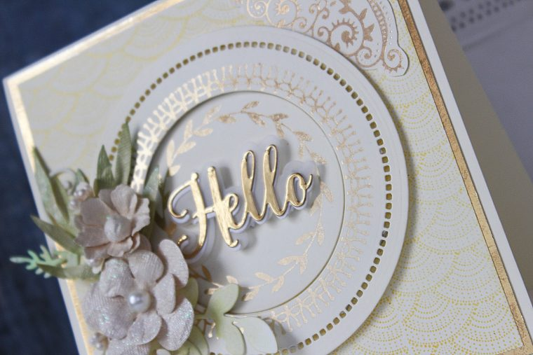 Glimmer Hot Foil Inspiration | Foiled Cards with Hussena Calcuttawala