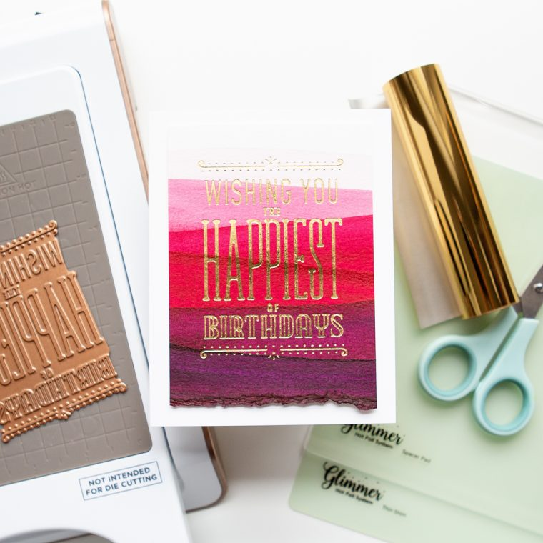 Glimmer Hot Foil Projects Roundup!