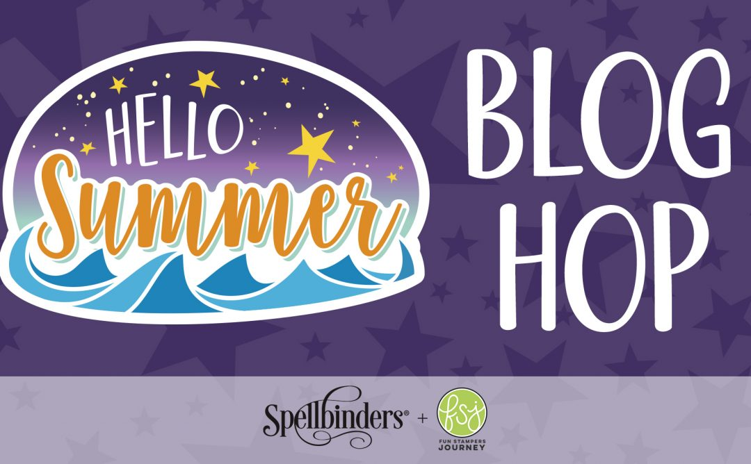 Fun Stampers Journey Hello Summer. Blog Hop + Giveaway