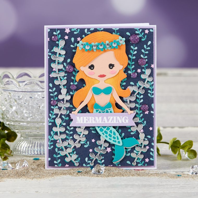 Spellbinders July 2019 Card Kit of the Month is Here – Shellebrate!