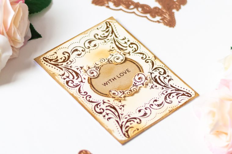 Royal Flourish Inspiration | Clean & Simple Foiled Cards with Laura Volpes