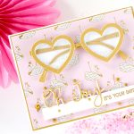 """Using Just Stamps & Dies! June """"Super Chill"""" 2019 Card Kit of the Month Edition"""