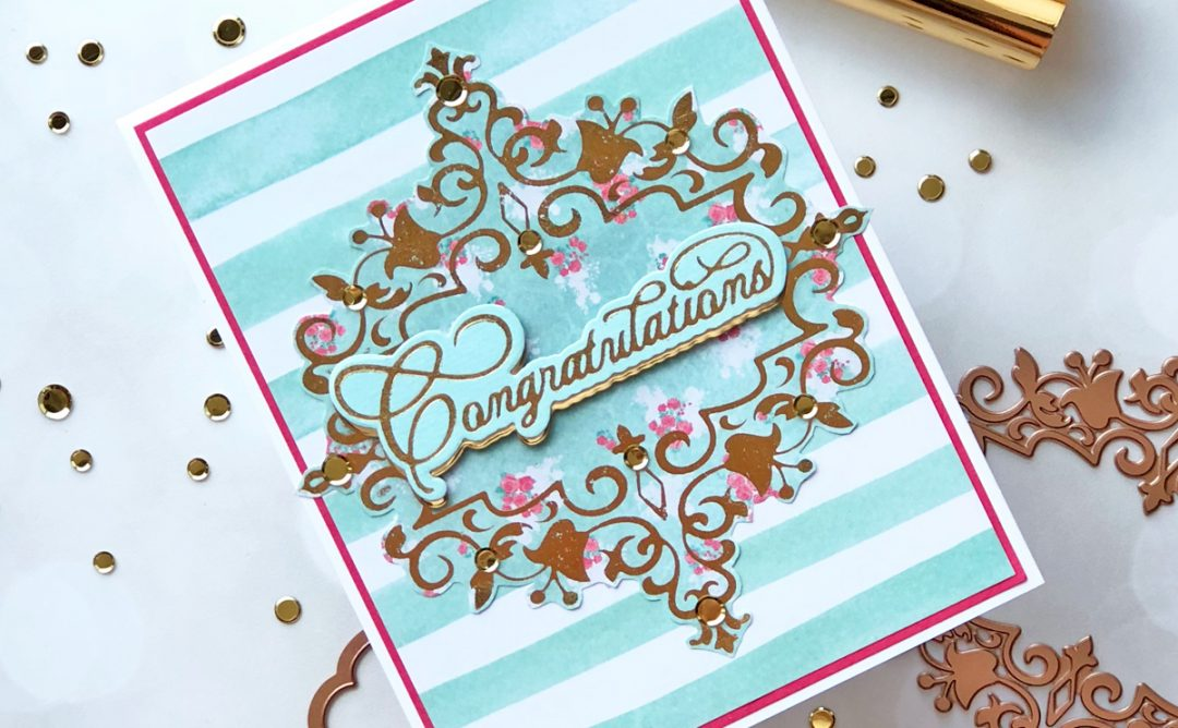 Royal Flourish Inspiration | Foiled Cards with Brenda