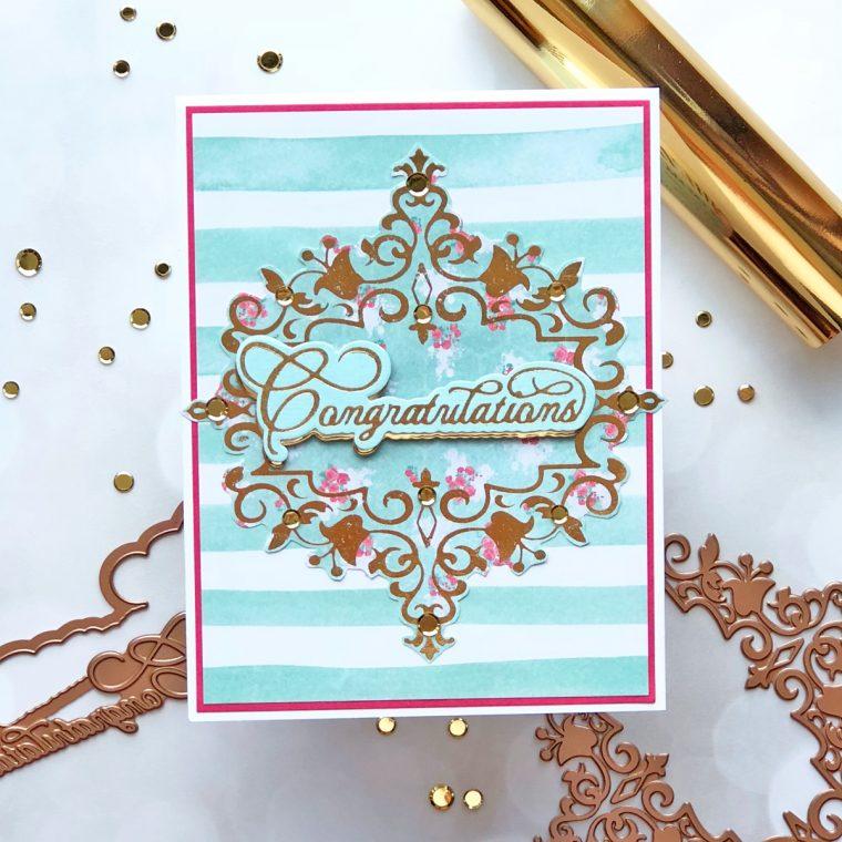 Royal Flourish Inspiration | Foiled Cards with Brenda