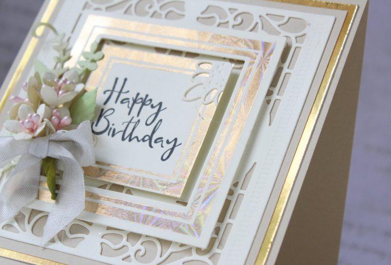 Royal Flourish Inspiration | Foiled Cards with Hussena