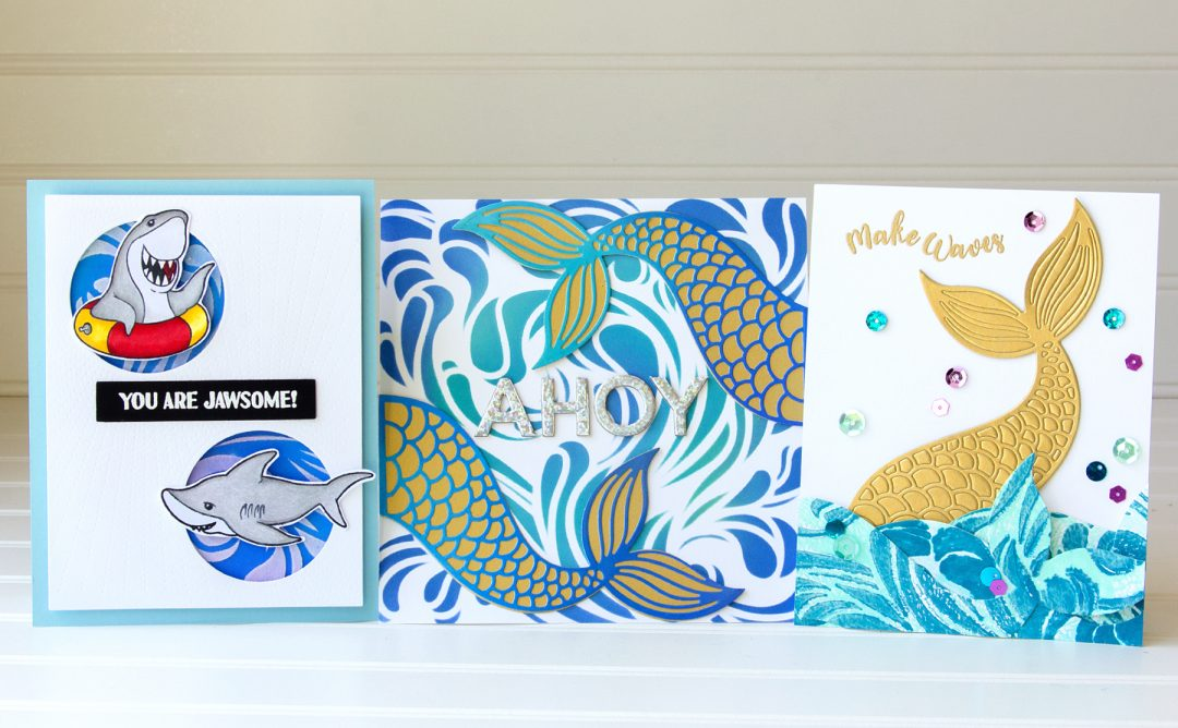 Hello Summer Inspiration   Make Waves with Jean Manis