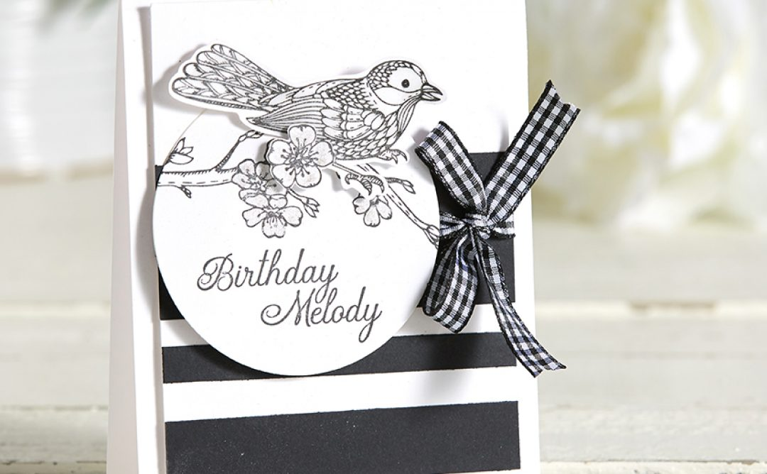 Elegant Black & White Card Designs