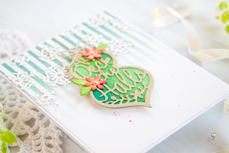 """Spellbinders Die D-Lites Holiday 2019 Inspiration 