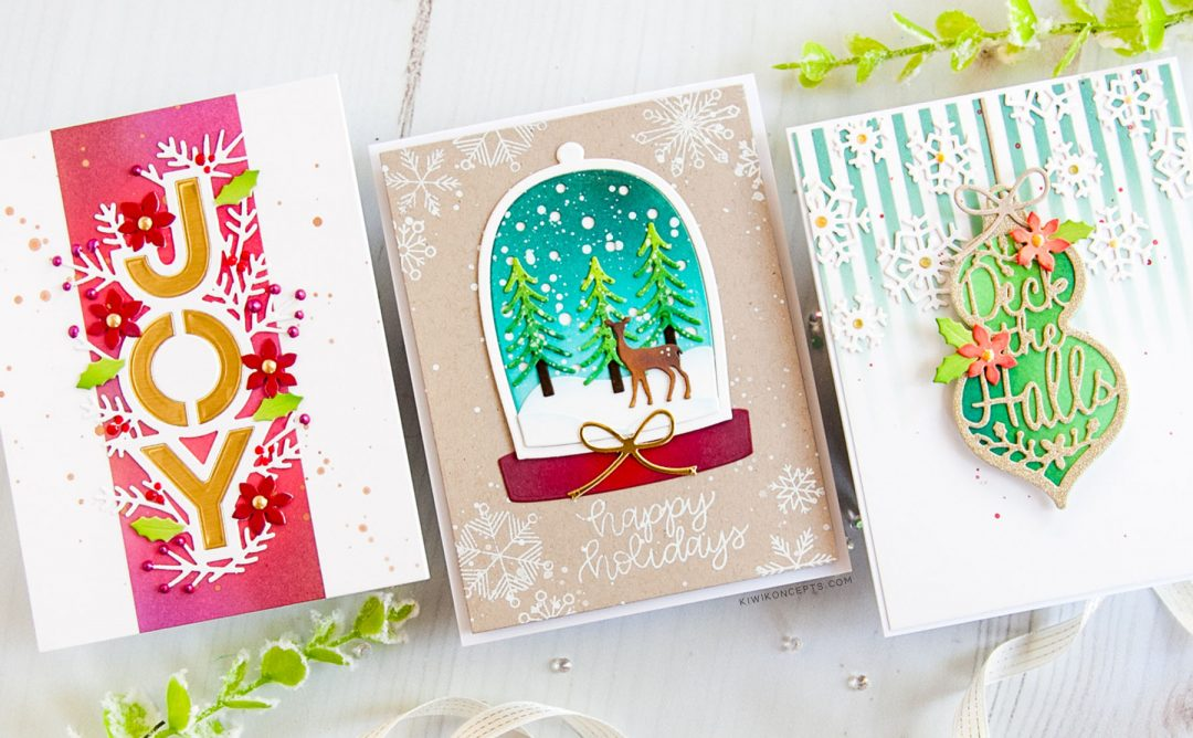 Holiday 2019 Inspiration | Clean & Simple Christmas Cards with Keeway