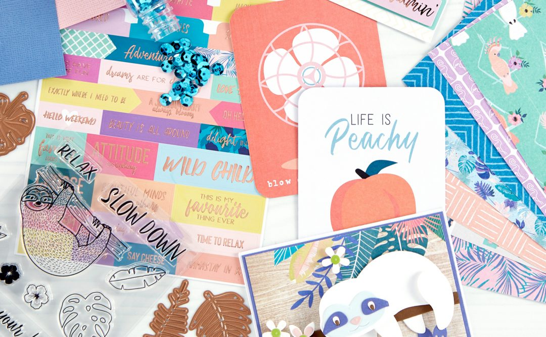 Coming Soon! August 2019 Clubs! Card Kit of the Month – Hang With Me. Unboxing Video