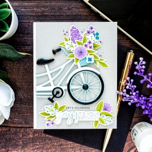 "Spellbinders July Clubs Inspiration Roundup - ""Glimmering Sentiments"" Glimmer Hot Foil Kit of the Month"