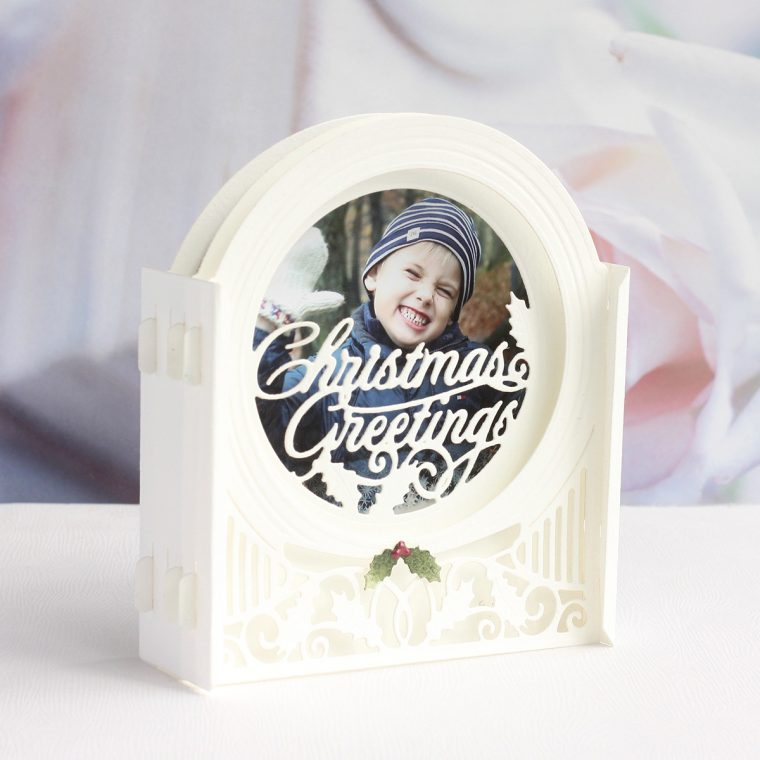 Spellbinders 3D Holiday Vignettes Collection by Becca Feeken - Inspiration | Dimensional Christmas Cards with Karin Åkesdotter