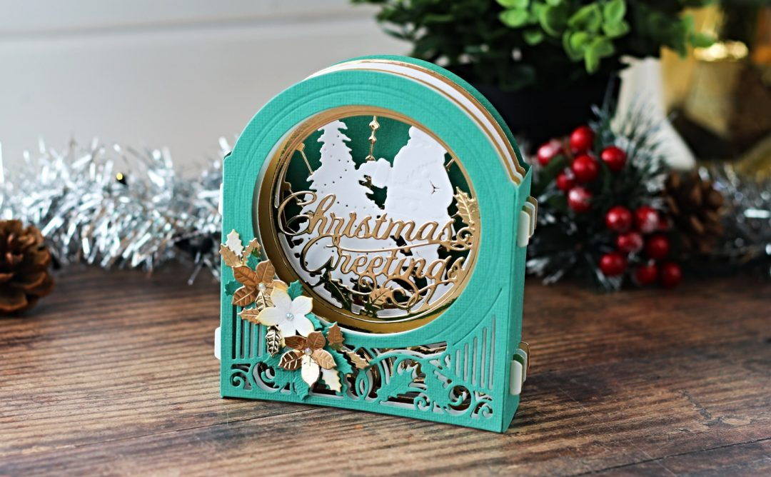 3D Holiday Vignettes Inspiration | Holiday Vignettes with Bibi Cameron