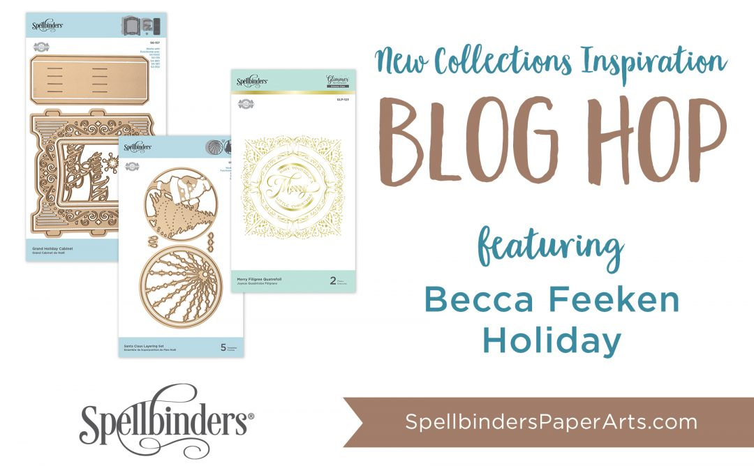 Becca Feeken 3D Holiday Vignettes & Glistening Holiday Blog Hop + Giveaway (Now Closed)