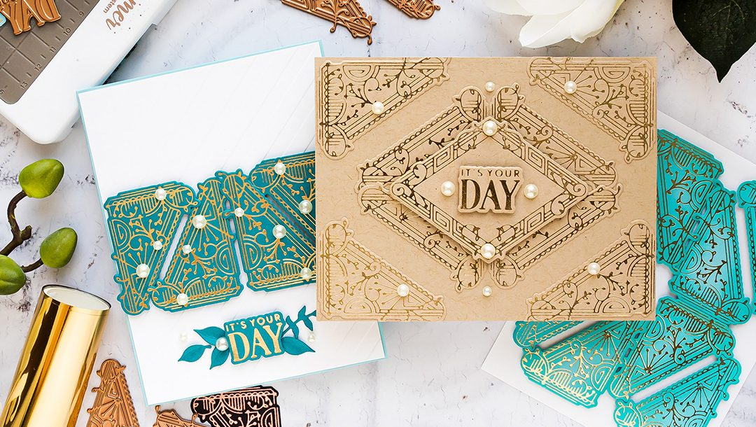 September 2019 Glimmer Hot Foil Kit of the Month is Here – Brilliant Corners & More