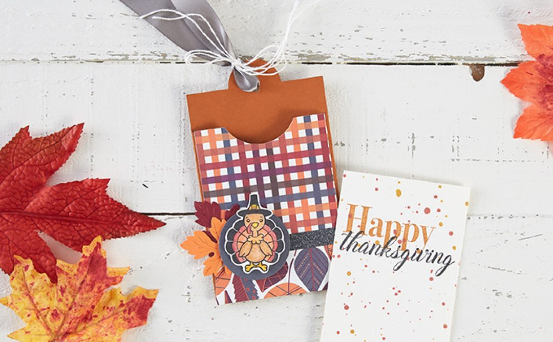 Thanksgiving Gift Card Pouch