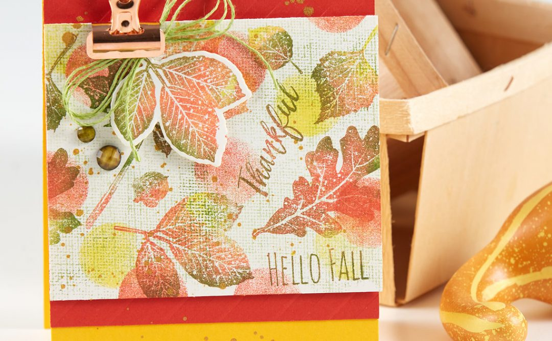 FSJ Holidays Sneak Peek – Cardmaking for Fall and Winter