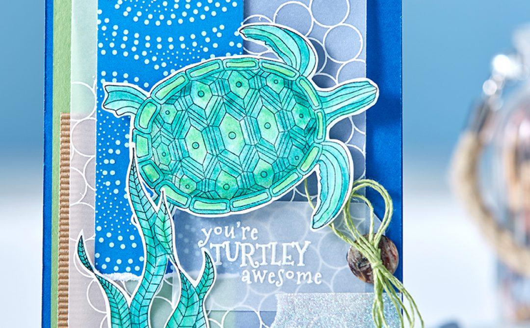 You're Turtley Awesome Handmade Card