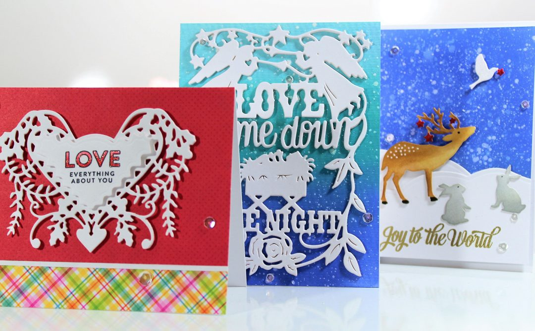 Sharyn Sowell Holiday 2019 Inspiration | Scenic to Simple Cards with Betty