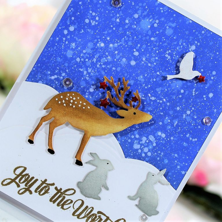 Spellbinders Sharyn Sowell Holiday 2019 Collection - Inspiration | Scenic to Simple Cards with Betty