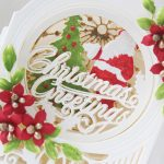 3D Holiday Vignettes Inspiration | Layered Christmas Cards with Hussena Calcuttawala