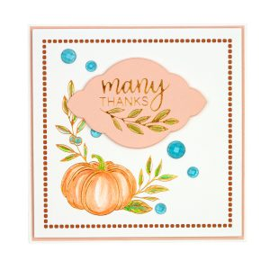 October 2019 Glimmer Hot Foil Kit of the Month is Here – Sunset Harvest