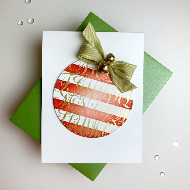 Spellbinders Paul Antonio Holiday 2019 Collection - Inspiration   A Clean and Simple Christmas with Laurie Willison