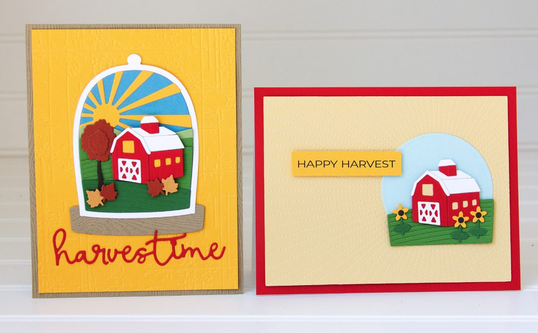 Scenic Snapshots Collection Inspiration | Harvest & Christmas Cards with Jean