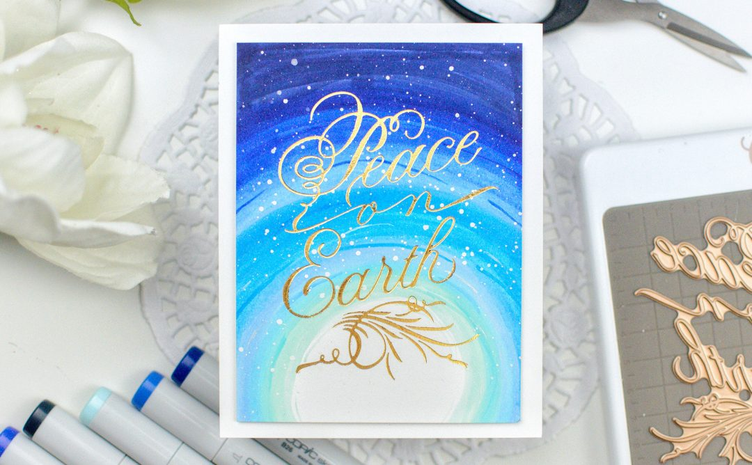 Paul Antonio Holiday 2019 Inspiration | Colorful Cards with Ashlea